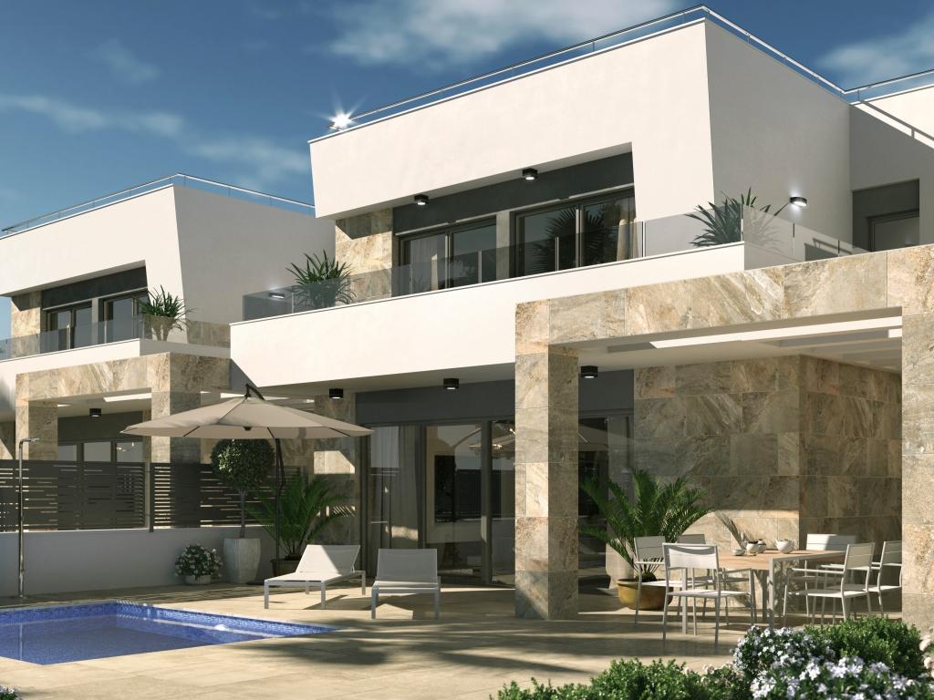 Brand New High Quality 3 Bedroom 3 Bath El Galan Detached Villas