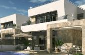N0030, Brand New High Quality 3 Bedroom 3 Bath El Galan Detached Villas
